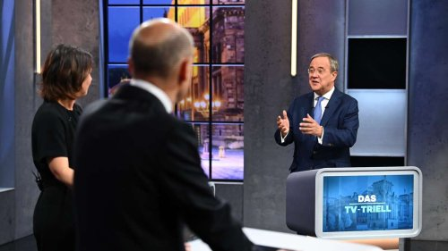 """Realitätsfern"": Zoff um Laschets Hartz-IV-Satz beim TV-Triell eskaliert"