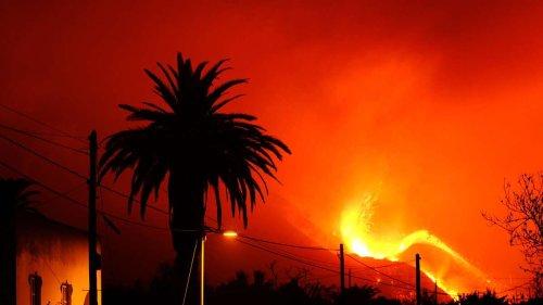 Vulkanausbruch auf La Palma: Tausende Menschen evakuiert - Etliche Erdbeben erschüttern Insel