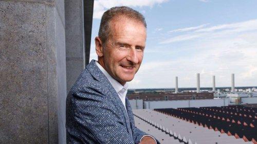VW-Boss Herbert Diess: Seine Forderungen an neue Regierung überraschen