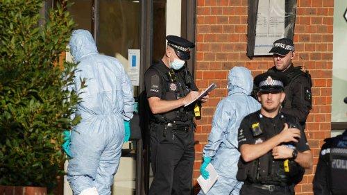 Britischer Tory-Abgeordneter getötet: Polizei stuft Messerangriff als Terrorakt ein