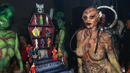 Heidi Klum: Rätsel um Halloween-Kostüm 2021 – Model zeigt private Aufnahmen