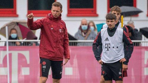 Vier Neue im Bayern-Training! Wen hat Nagelsmann da denn ausgegraben?