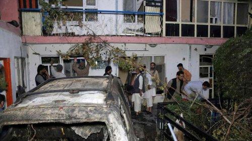 Zehn Tote durch Luftangriff in Kabul: US-Militär wurde kurz zuvor von CIA gewarnt