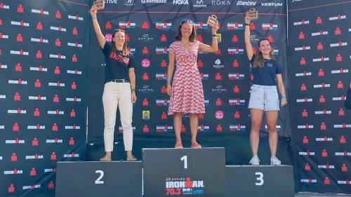 Mit selbst gebautem Rad zum Mallorca-Titel: Carolin Schaffert gewinnt über die Mitteldistanz