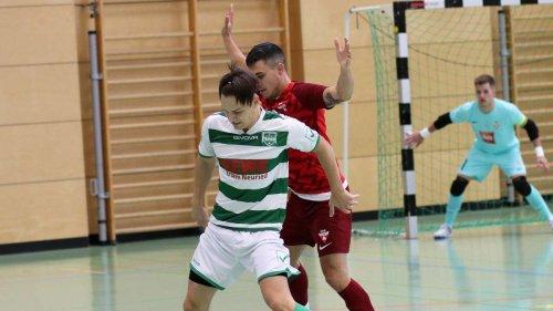 Futsaler des TSV Neuried verlieren gegen bis dahin punktlosen Karlsruher SC