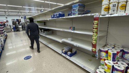 """Supermarkt-Riese warnt vor """"schlimmeren Panikkäufen als vor Corona"""": Briten fürchten """"Winter des Leidens"""""""