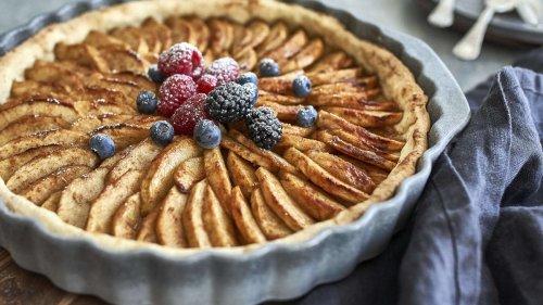 Was Edles für die Kaffeetafel: So backen Sie französischen Apfelkuchen