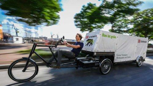 Transport der Zukunft: XXL-Lastenrad ersetzt jetzt Lkw