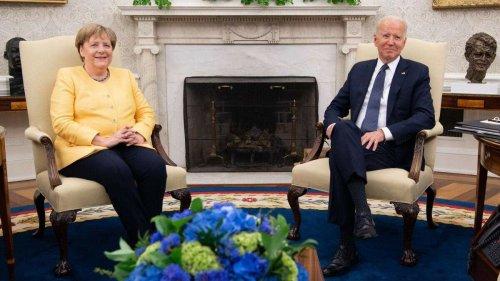 """Merkel-PK mit Biden im Ticker: Kanzlerin richtet Wort an Flutopfer - """"ein Tag der Angst um Leben und Besitz"""""""