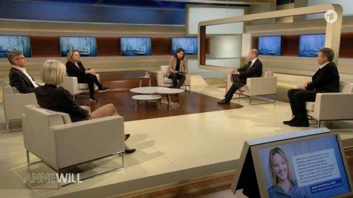 Anne Will provoziert Habeck mit Lindner-Fragen - bis der entnervt zurückschießt