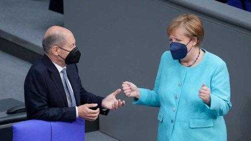 Ampel soll schon zum Nikolaustag stehen - diese Nachricht ist vor allem für Merkel bitter
