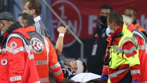 Nürnberg gegen HSV im DFB-Pokal: Krauß fällt bewusstlos zu Boden– wie geht es ihm?