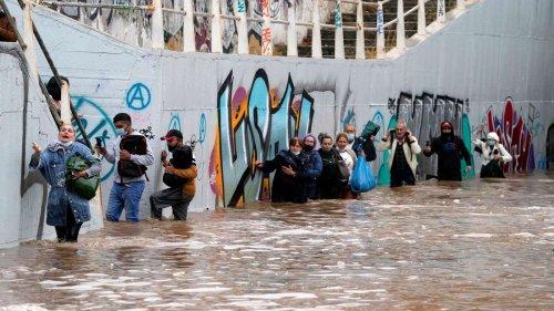 """Schwere Unwetter treffen Griechenland und sorgen für Überschwemmungen: """"Die Gefahr ist groß"""""""