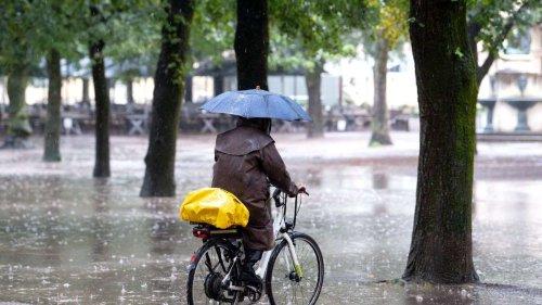 Gewitter und Regen in Deutschland - Temperaturen sinken