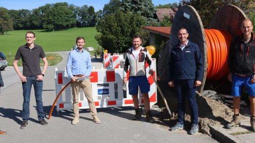 Breitbandausbau in Wessobrunn, Forst und Haid gestartet