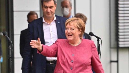 """Kurz vor Bundestagswahl: CSU-Chef Söder attackiert Merkels CDU-Vertrauten - """"Finde das sehr schlecht"""""""