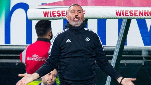 HSV: Wutausbruch im TV – so provoziert Experte HSV-Trainer Tim Walter