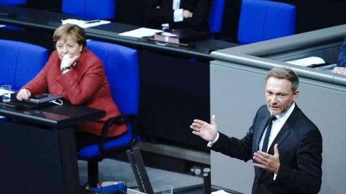 """Ampel kommt ins Rollen: Interne Corona-Gespräche laufen - FDP erinnert Merkel ans """"Versteinerungsgebot"""""""