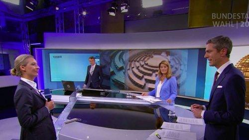 ARD-Moderator führt skurriles Interview mit AfD-Politikerin Weidel - Netz ist begeistert