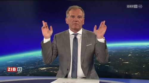 ORF-Moderator legt in den Nachrichten jetzt schon legendäre Tanzeinlage ein - und wird dafür gefeiert