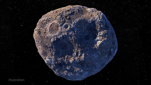Erdnaher Asteroid besteht aus Rohstoffen im Wert von 11,6 Billionen Dollar