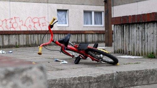 Junger Münchner (4) fällt vom Radl: Als er am Boden liegt, stürzt sich plötzlich Hund auf ihn