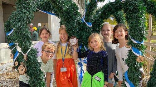 Munich International School in Starnberg: Rohbau der Turnhalle fertig - auch dank Spenden in Millionenhöhe