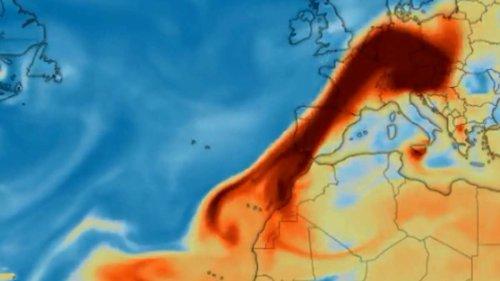 Giftige Schwefelwolke mit extremer Konzentration über Deutschland - Besorgte Bürger rufen Wetterdienst an