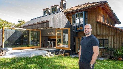 Architektenhaus in Breitbrunn: Preisgekrönte 58,75 Quadratmeter