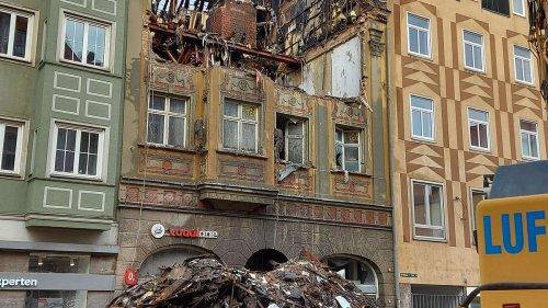 Brand im Bürgerhaus Augsburg: Womöglich war der Akku eines E-Scooters schuld