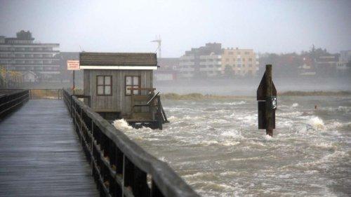Sturmflutwarnung für Hamburg: Pegel von bis zu 3,90 Metern erwartet - Polizei warnt Bewohner