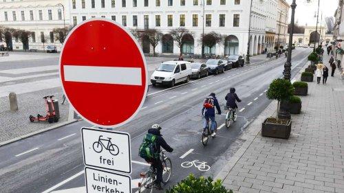 Engpass an der Brienner Straße: Hier steht Münchens Radwegeausbau vor großem Problem