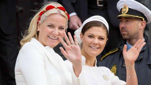 Victoria und Mette-Marit: Mit diesem Treffen hat niemand gerechnet