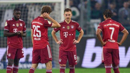 Pokal-Fiasko in Gladbach! Für die Bayern-Stars hagelt es sechs Mal die Note 6