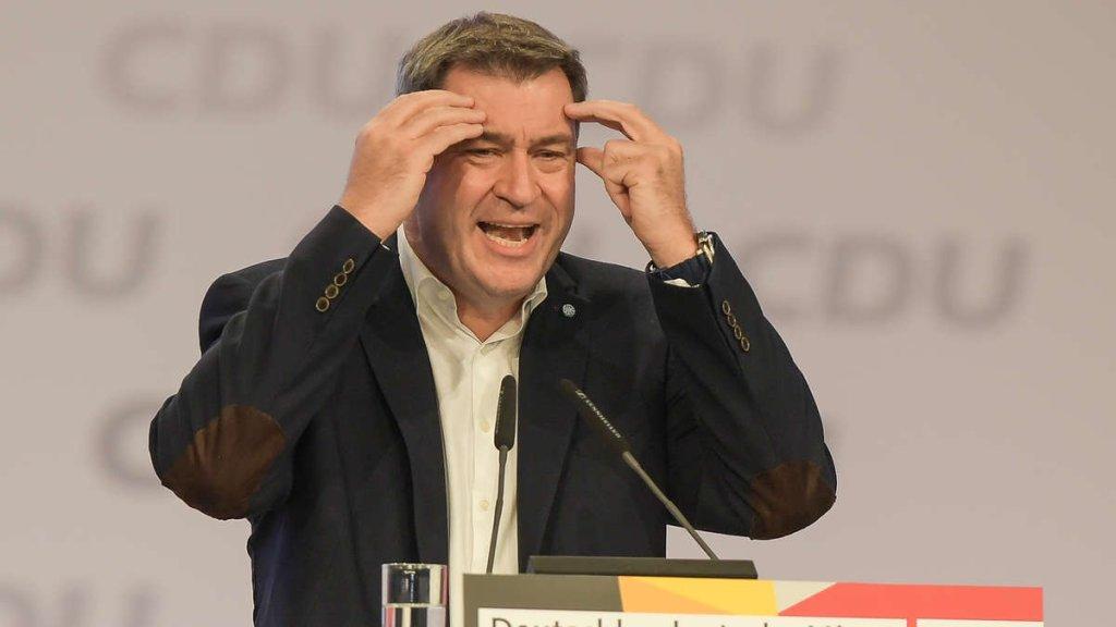 CDU im freien Fall - cover