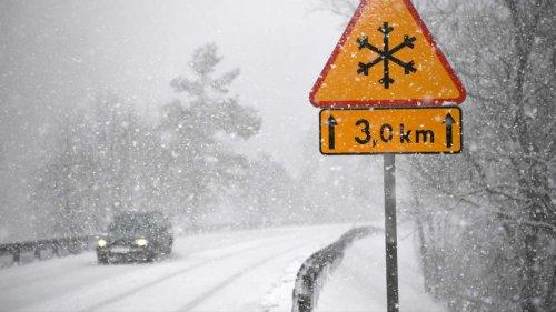 Kaltfront trifft Deutschland: DWD kündigt Schnee und Frost an