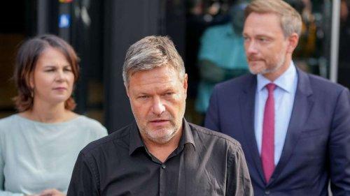 Ampel-Krach zeichnet sich ab: FDP zieht rote Linie - Habeck wird deutlich