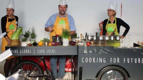 """""""Cooking for future"""" mit dem Food-Bike: Essen auf Rädern mal ganz anders"""