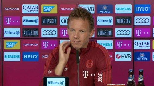 """FC Bayern vor Transfer? Nagelsmann überrascht: """"Schaue mal, ob noch Geld im Portemonnaie ist"""""""