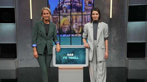 """Triell-Moderatorin hat CDU-Vergangenheit - Grüne nach Fehler auf der Palme: """"Sie macht Propaganda"""""""