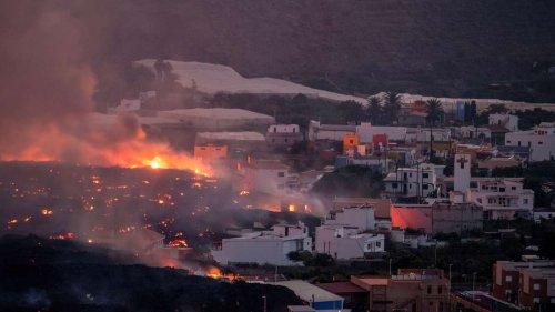 Vulkan-Lava auf La Palma schießt Drohne fast ab – deutsches Paar schildert dramatische Rettung
