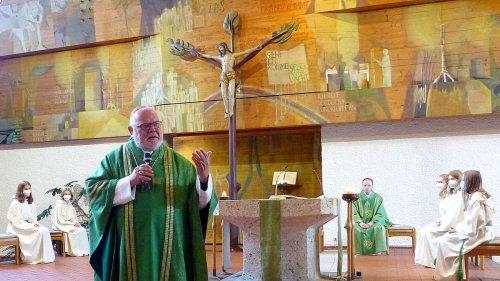 Ein Kardinal als Überraschungsgast: Marx predigt in Baldham