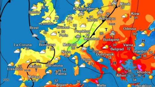 Brut-Hitze überrollt Mittelmeerraum - doch es droht viel größere Gefahr