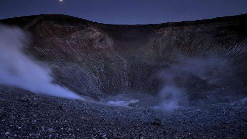 Vulkan in Italien droht nach über 130 Jahren wieder auszubrechen - Warnstufe Gelb ausgerufen