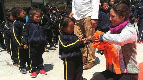 Veronika Dietzel: Von Schongau aus in einsamer Mission nach Nepal