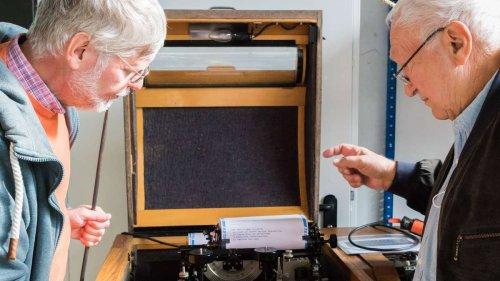 Kommunizieren wie damals: Fernschreiber im Stadtmuseum restauriert