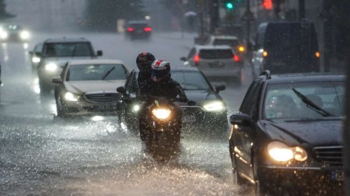Unwetter-Gefahr: Hier drohen heftiger Starkregen und Gewitter