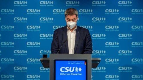 Frust-Ergebnis für CSU in Bayern: Söder benennt Verantwortlichen
