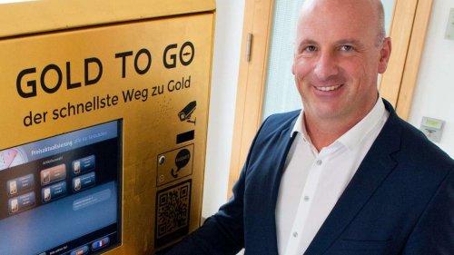 Hier gibt es Gold aus dem Automaten