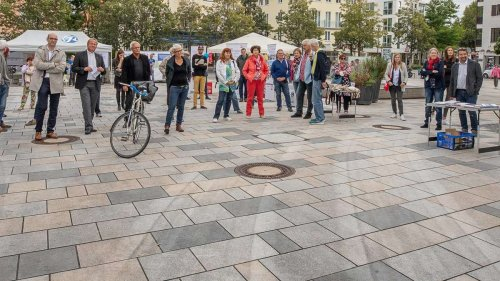 Demokratie-Fest hier, AfD-Wahlkampf dort: Friedlicher Freitag in Starnberg